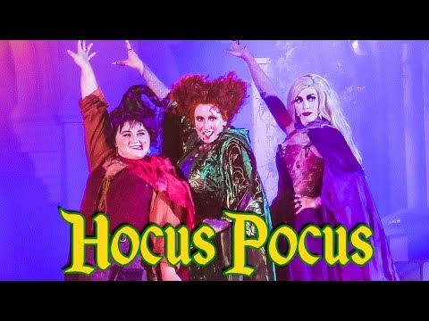 Hocus Pocus Villain Spelltacular 2018 Full Show - Mickey's Not So Scary Halloween Party