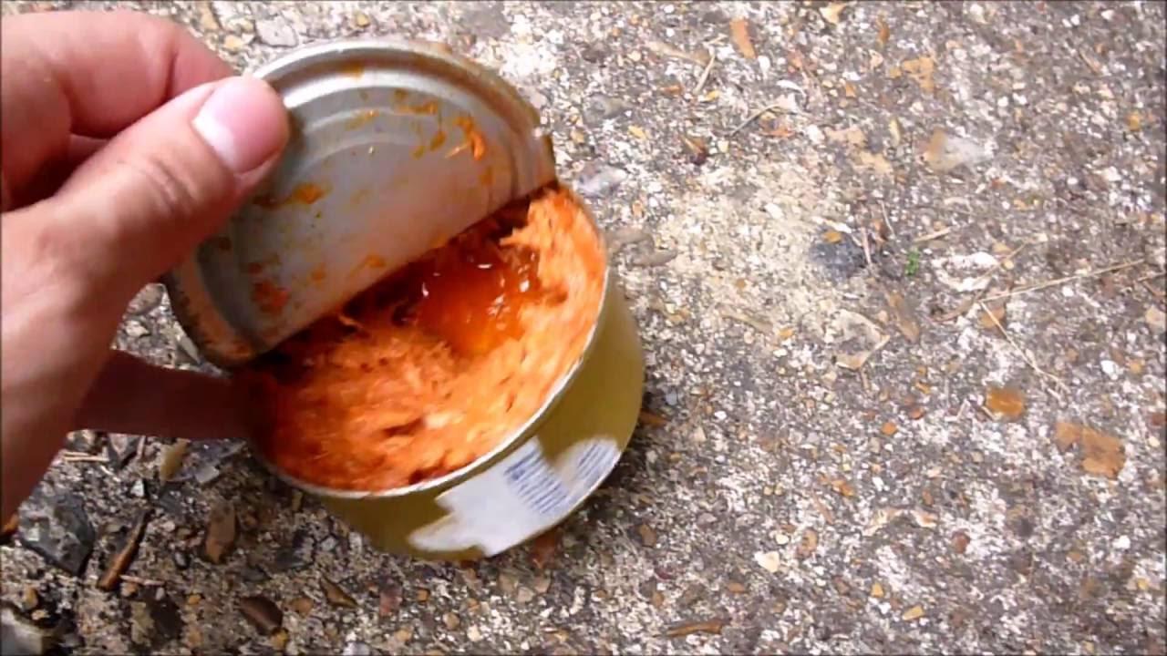 Comment Ouvrir Une Boite De Conserve Sans Ouvre Boite ouvrir une boite de conserve sans ouvre-boites - youtube