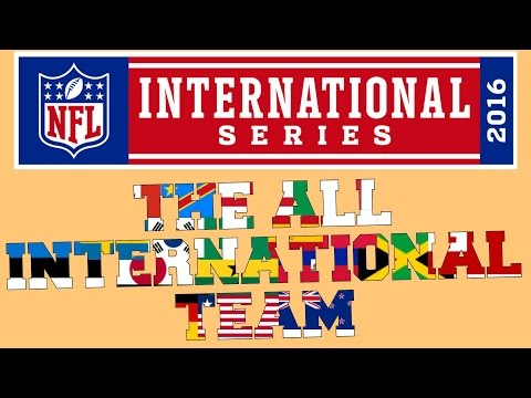 NFL PLAYERS NOT FROM THE USA