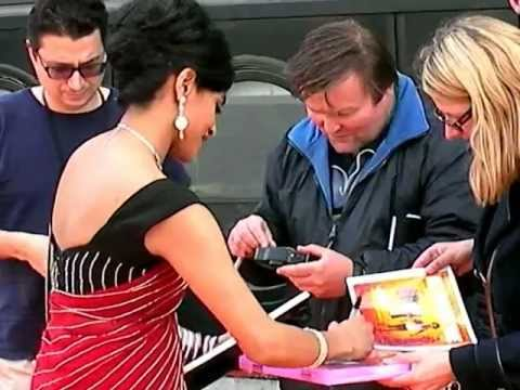 Amara Karan Signing Autographs @ All In Good Time Film Premiere London, England 2012