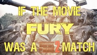 "If the movie ""Fury"" was a Company of Heroes 2 match"
