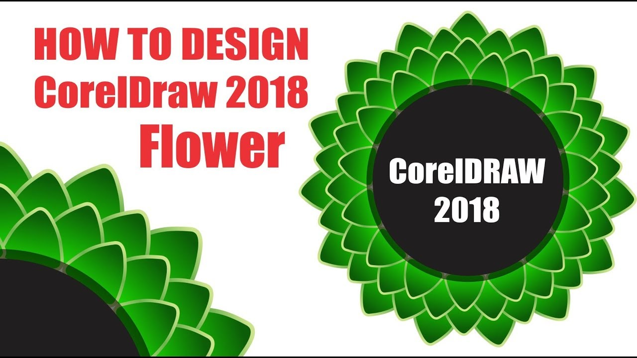 coreldraw 2018 Logo design | cdtfb | hindi, urdu