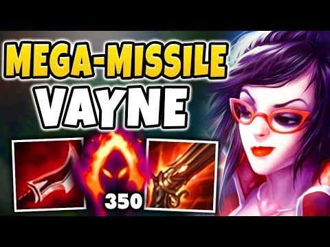 WTF! VAYNE CAN INSTANTLY NUKE ANYONE NOW?!? MASSIVE ONE-SHOT VAYNE BUILD!!! - League of Legends