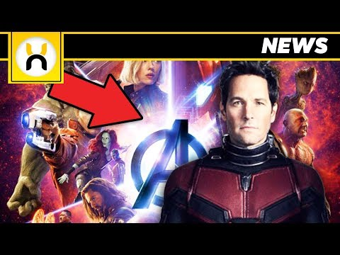 Ant-Man Spotted on Avengers Infinity War IMAX Poster?