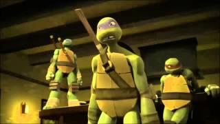 TMNT - Dinosaur Laser Fight