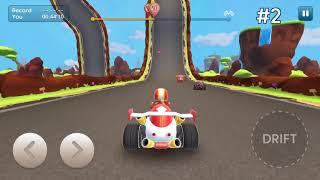 Trò Chơi Đua Xe Ô Tô 3D | Game Cho Trẻ Em Cùng Chị Kiều Hương