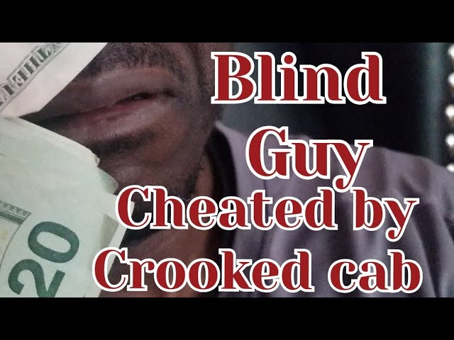 Do People Cheat Blind Folks?