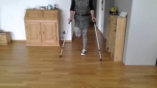 Repeat youtube video RAK amputee pretender crutching
