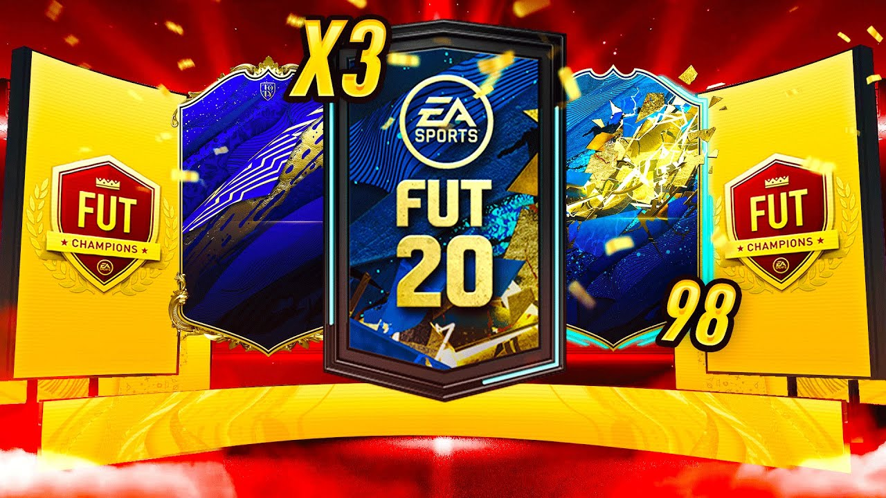 FIFA 20 INSANE TOTY PACKED, 4 TOTS PLAYERS AND THE RTG GOING UP! ROAD TO GLORY #42 | FIFA 20 PACKS
