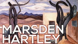 Marsden Hartley: A collection of 330 works (HD)