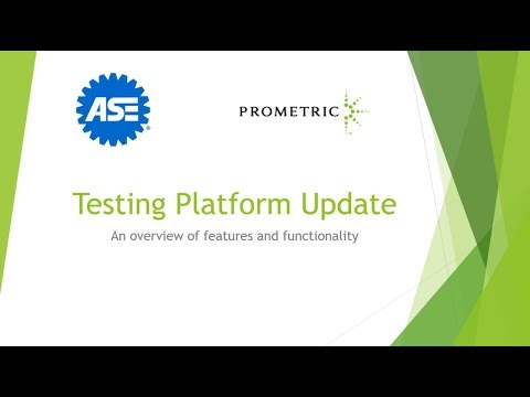 A Look at the ASE Testing Platform