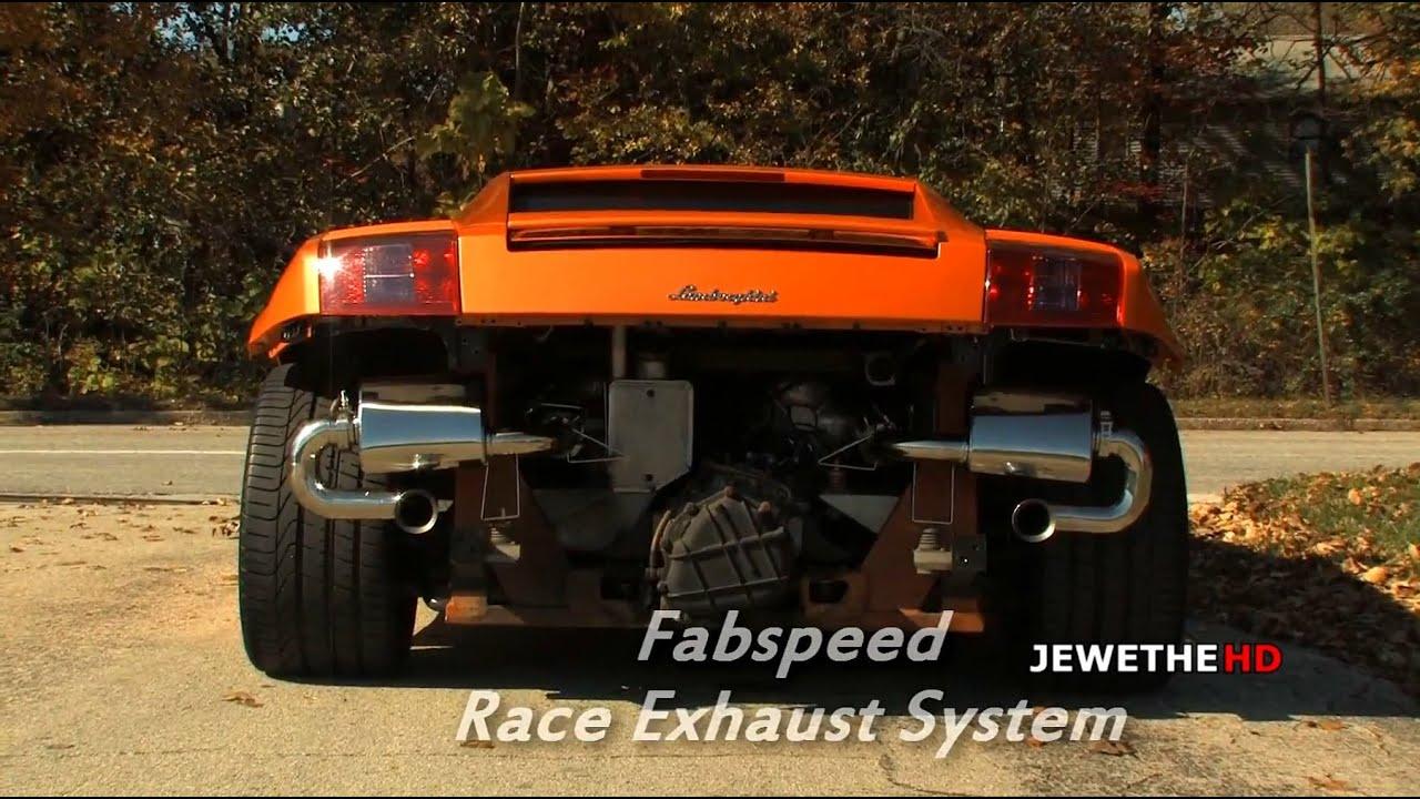 Lamborghini Gallardo REV BATTLE: Stock Exhaust vs Fabspeed Race Exhaust!