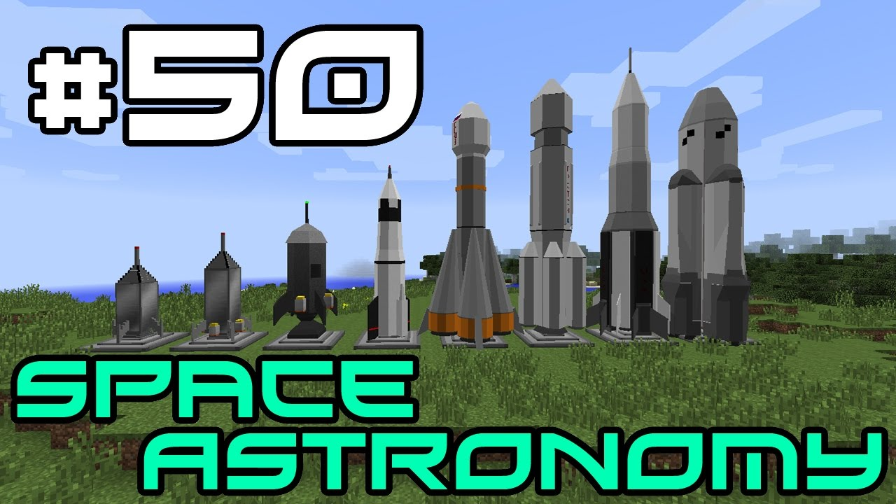 Minecraft Space Astronomy Rocket Explosion 50 Youtube