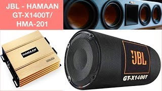 JBL GT-X 1400 Bass tube & Hamaan amplifier - Baleno
