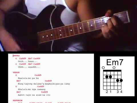 Minamahal By Sarah Geronimo Guitar Chords Youtube