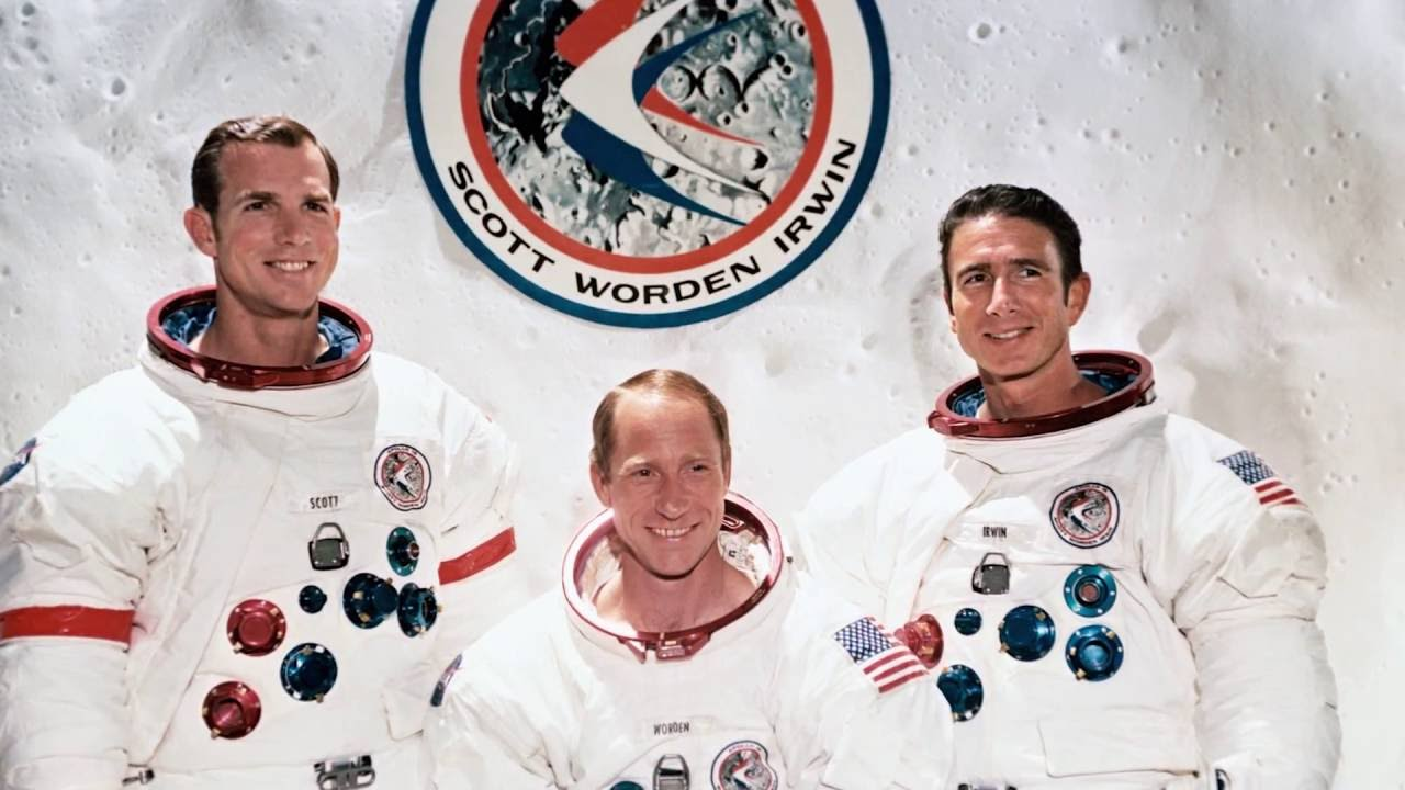 45th Anniversary of Apollo 15 Mission - YouTube