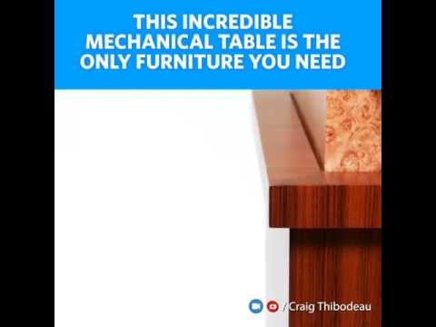 Engineering the only furniture you will need at you home