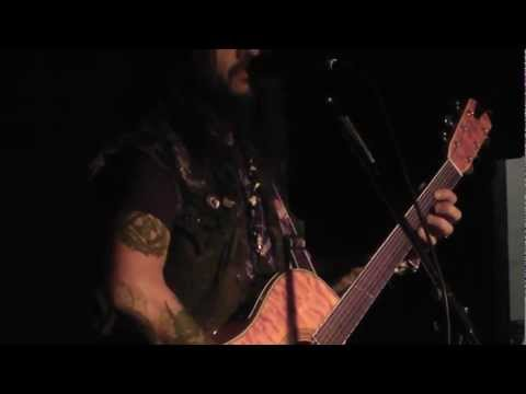 Robb Flynn of Machine Head acoustic at Brick By Brick (Part One)