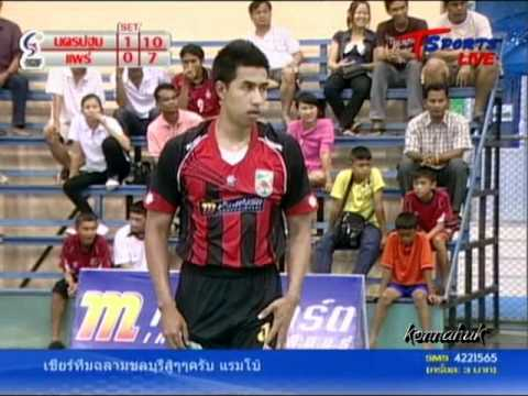 2011 Sepak Takraw Thailand League ''Nakhon Pathom Vs Phrae 4 of 6