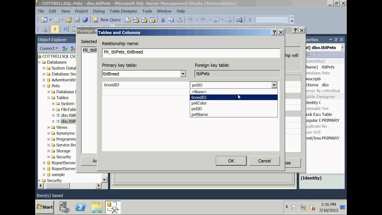 how to run sql server 2012