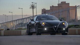 Alfa Romeo 8C Competizione - Test drive