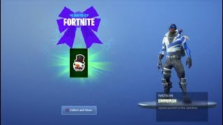 4ème Gift 14 Days of Fortnite (WHERES TAKE THE ELF)
