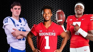 2019 NFL Draft QB prospects: Kyler Murray, Dwayne Haskins, Daniel Jones | NFL on ESPN