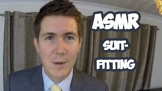 ASMR Male Suit Fitting ★ | Binaural 3D Roleplay | Close Personal Attention Tailor-Made™ for Men