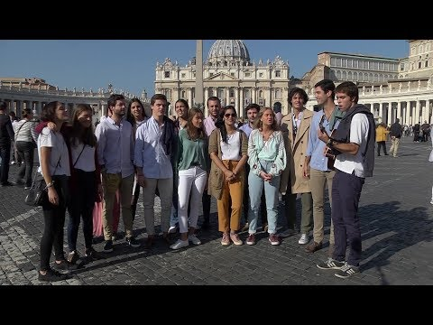 Hakuna: Movement formed by youth at Rio's WYD pray for Church from Rome