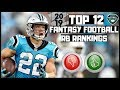 Download mp3 2019 Fantasy Football Rankings - Top 12 Overall Running Backs ( RB ) for free