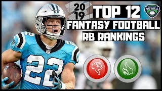 2019 Fantasy Football Rankings - Top 12 Overall Running Backs ( RB )