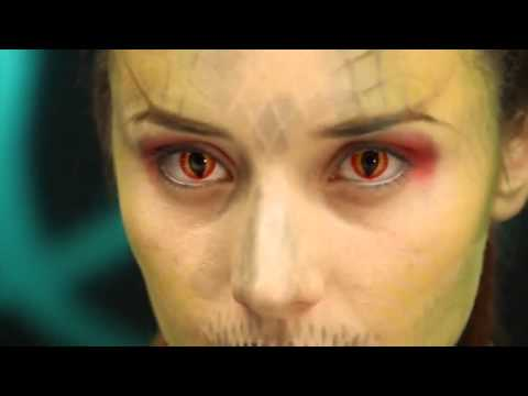 Free Contact Lens Trial >> Beautiful Dragon Eye Contact Lenses - YouTube