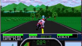 Gameplay del ayer: Road Rash ][