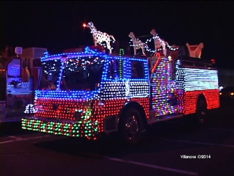 2014 Bellmawr,nj Fire Department Annual Christmas Parade