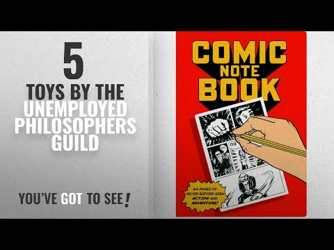 Top 10 The Unemployed Philosophers Guild Toys [2018]: Comics Passport Sized Notebook - By The