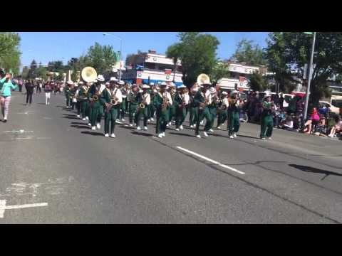 Lawrence Cook Middle School Band  - Apple Blossom Parade 2015