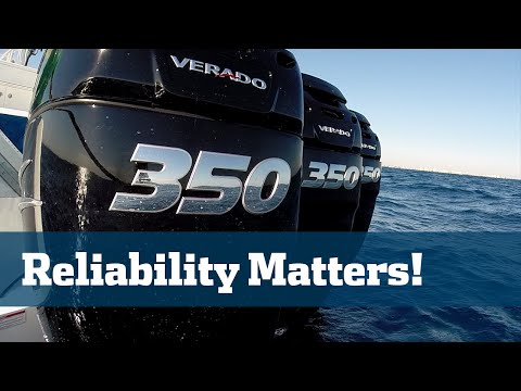 Florida Sport Fishing TV - Gear Guide Mercury Verado 350s Four Stroke Outboards