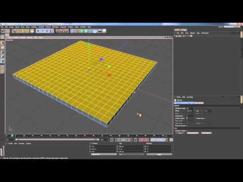 13 How to add thickness to geometry in Cinema 4D