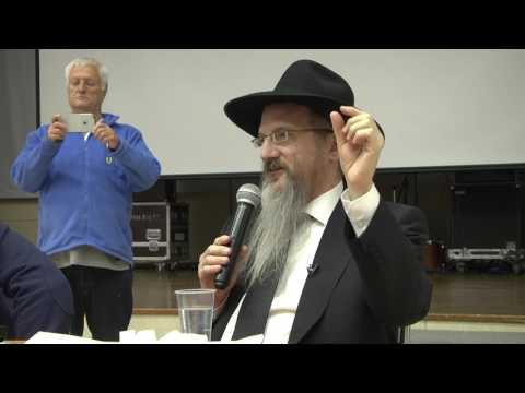 Limmud FSU Moscow 2017 - Cheif Rabbi of Russia Berl Lazar