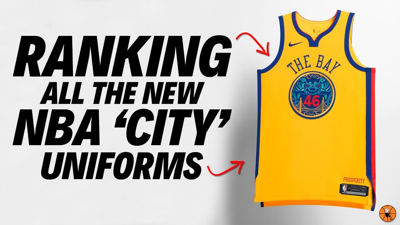 RANKING ALL THE NEW NIKE NBA  CITY  UNIFORMS!!! - YouTube 2450f22e7