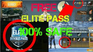 PUBG ELITE PASS FOR FREE.OFFERED BY GOOGLE..100% SAFE WAY