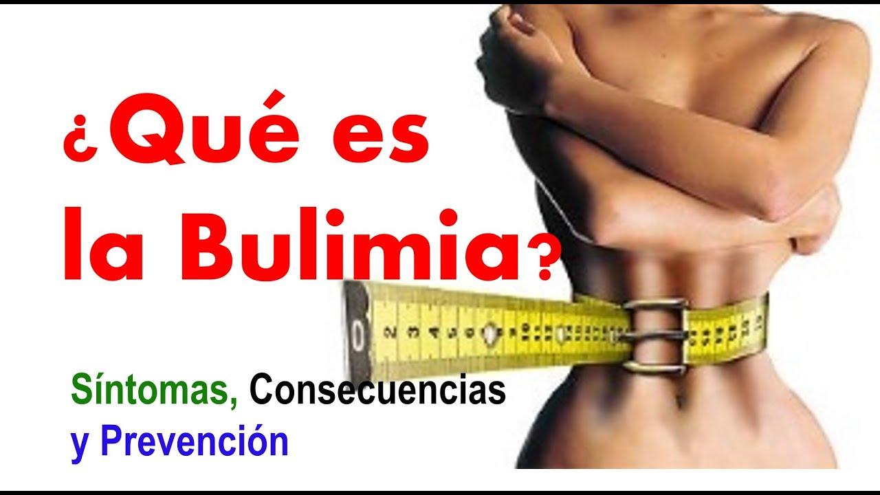 anorexia y bulimia consecuencias