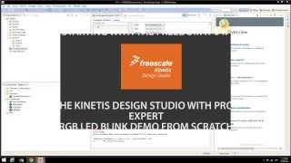 Starting With the FRDM K64F And Kinetis Design Studio using Processor Expert