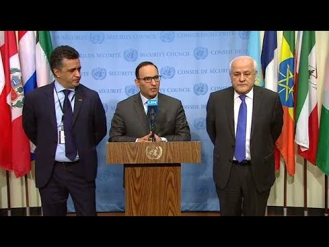 Situation in Palestine - Security Council Media Stakeout (14 Feb 18)