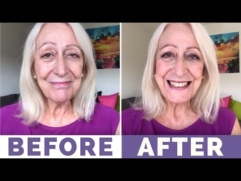Makeup for Older Women: My No Item Over $5 Party Makeover Using Catrice Products