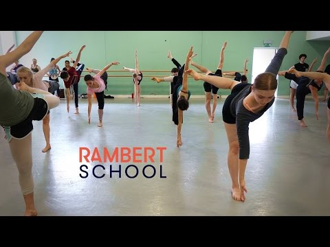 A Typical Day at Rambert School: the afternoon