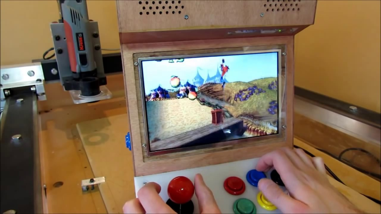Building My Mini Arcade Machine