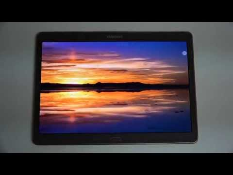 Samsung Galaxy Tab S 10.5 Software Demo and Review
