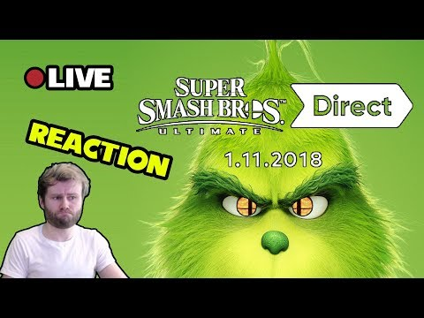 Smash Direct Live! - Is the Grinch Leak Real!?