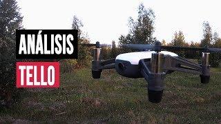 ANÁLISIS DRONE TELLO EN ESPAÑOL: El drone DJI por 100€